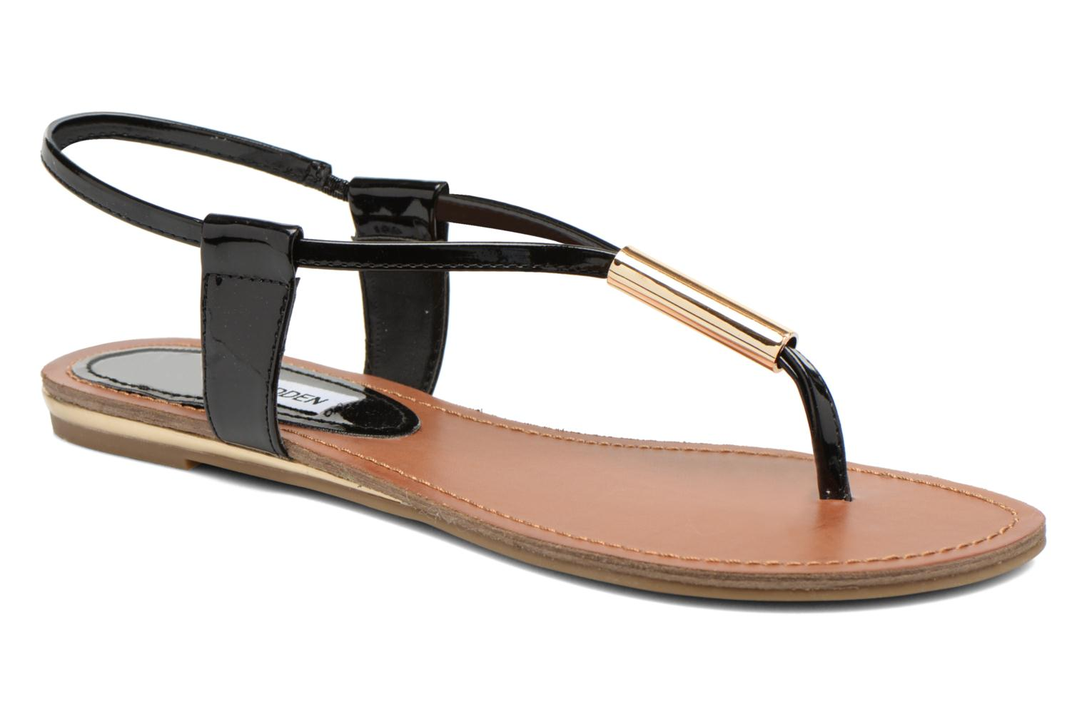 Sandals Steve Madden Hamil Black detailed view/ Pair view