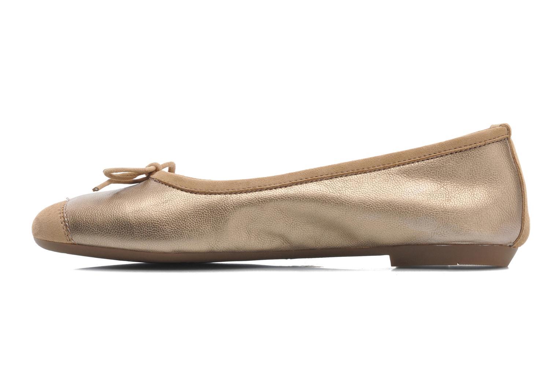 Ballerina's Coco et abricot Belline Goud en brons voorkant