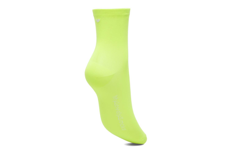 Chaussettes et collants My Lovely Socks Romane Fluo Jaune vue gauche