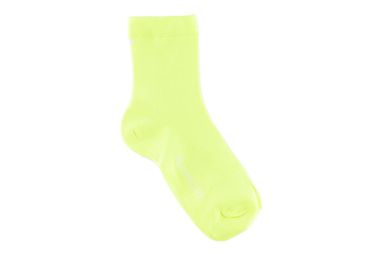 Chaussettes et collants My Lovely Socks Romane Fluo Jaune vue détail/paire