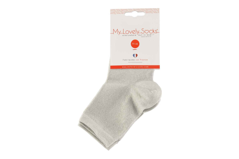 Strømper og tights My Lovely Socks Jo Grå se bagfra