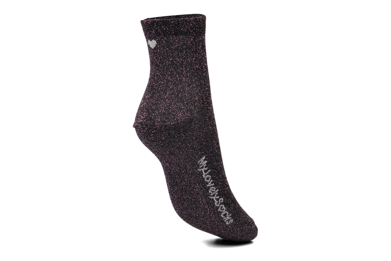 Calze e collant My Lovely Socks Jo Rosa immagine sinistra