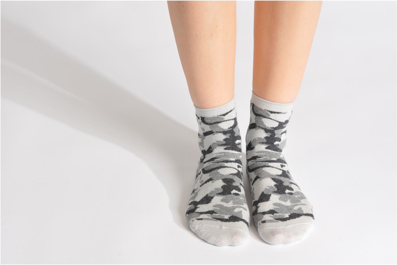 Chaussettes et collants My Lovely Socks Anna Gris vue bas / vue portée sac