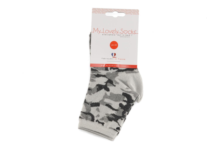 Sokken en panty's My Lovely Socks Anna Grijs achterkant