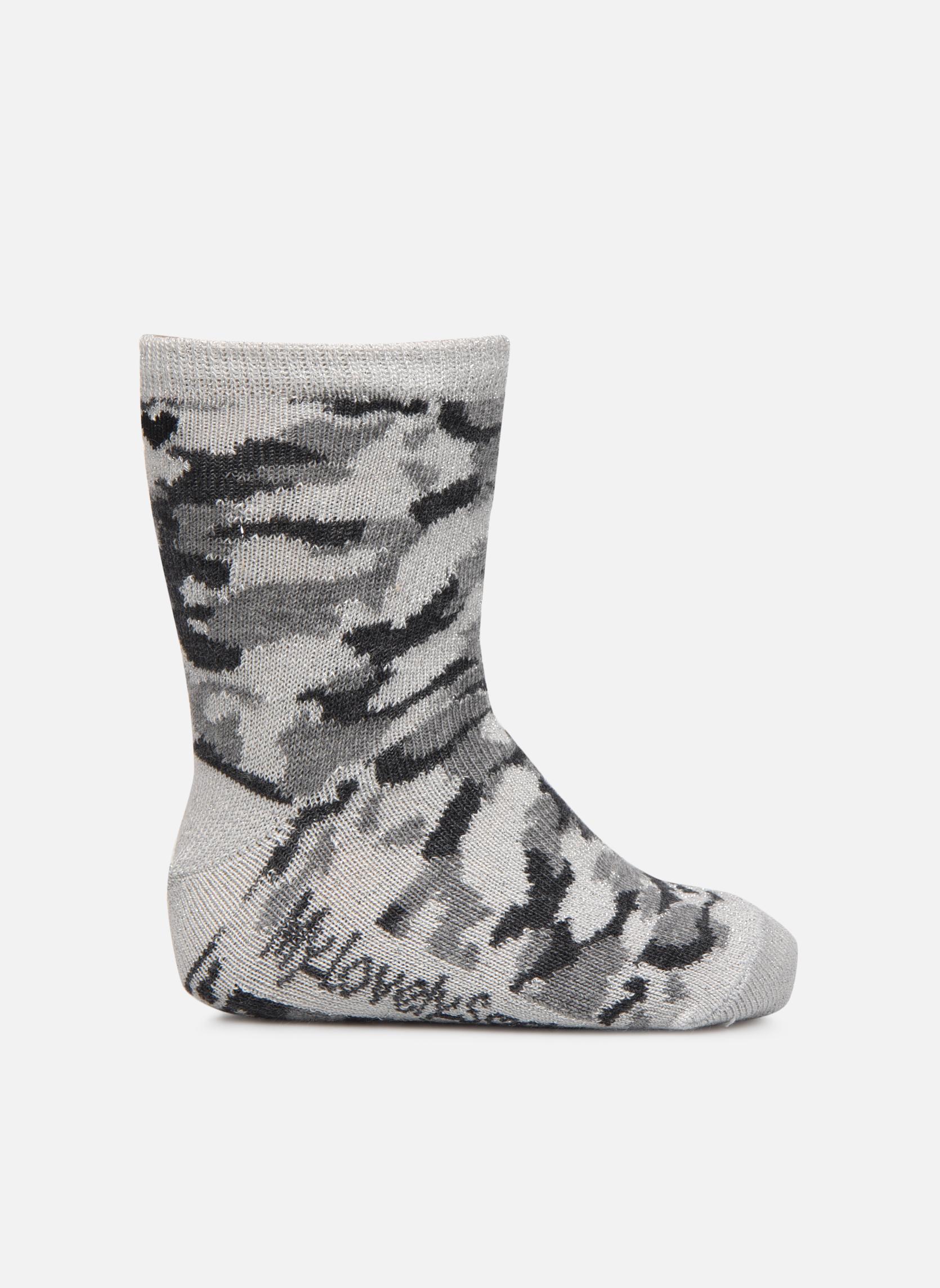Sokken en panty's My Lovely Socks Anna Grijs detail