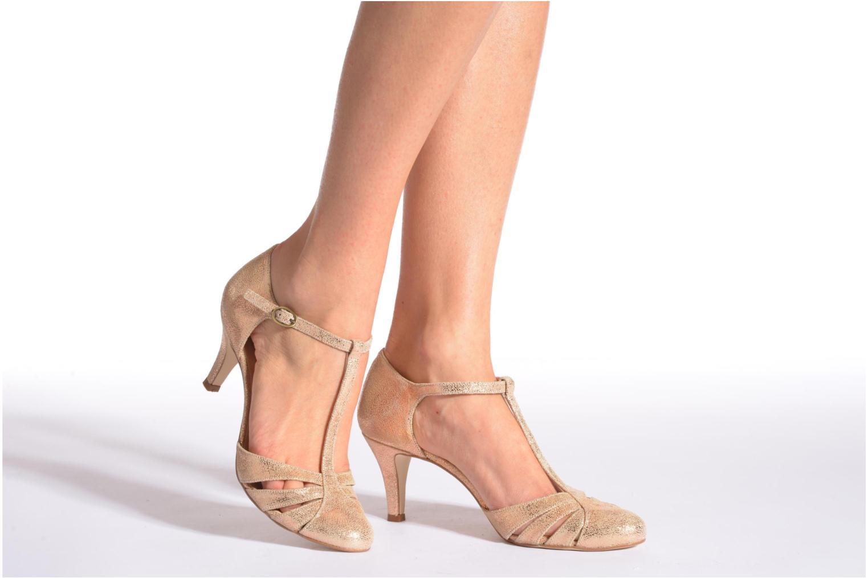 Zapatos de tacón Jonak 11316 Oro y bronce vista de abajo