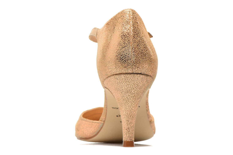 Zapatos de tacón Jonak 11316 Oro y bronce vista lateral derecha