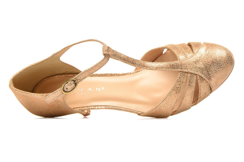Zapatos de tacón Jonak 11316 Oro y bronce vista lateral izquierda