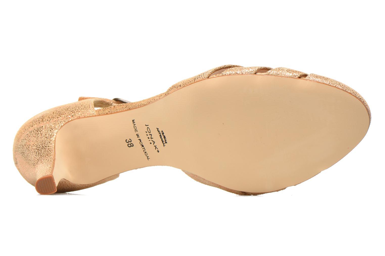 Zapatos de tacón Jonak 11316 Oro y bronce vista de arriba