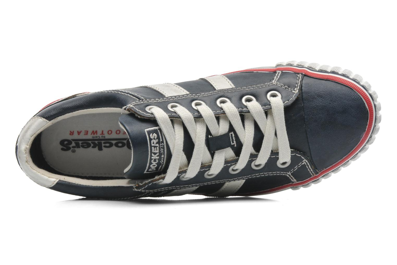 Sneakers Dockers Suit Azzurro immagine sinistra
