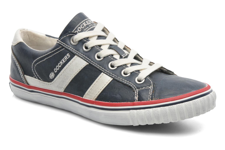 Sneakers Dockers Suit Blå detaljerad bild på paret