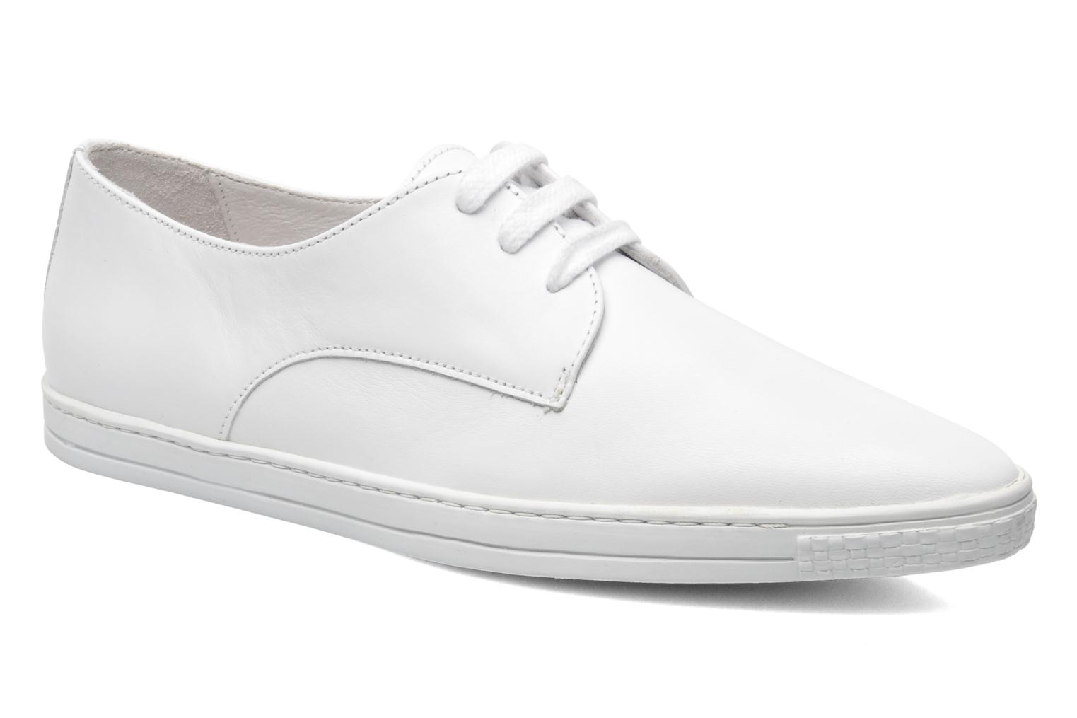 Donna 2 White smooth leather