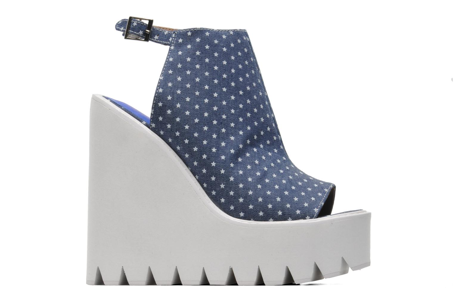 Sandals Jeffrey Campbell BARCLAY Blue back view