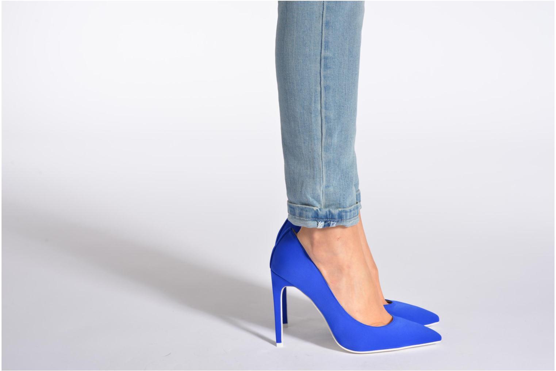 Zapatos de tacón Jeffrey Campbell Dulce Azul vista de abajo