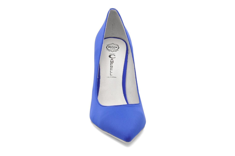 Escarpins Jeffrey Campbell Dulce Bleu vue portées chaussures