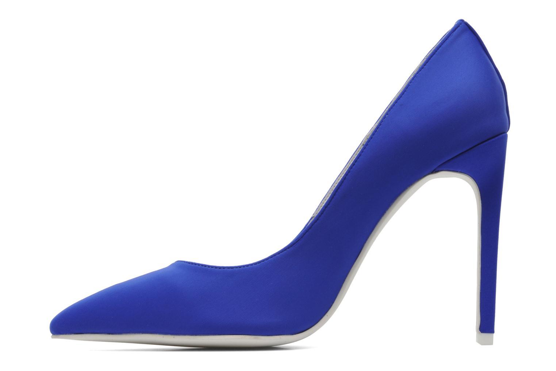 Zapatos de tacón Jeffrey Campbell Dulce Azul vista de frente
