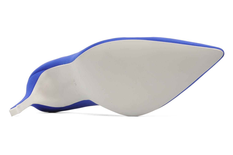 Zapatos de tacón Jeffrey Campbell Dulce Azul vista de arriba