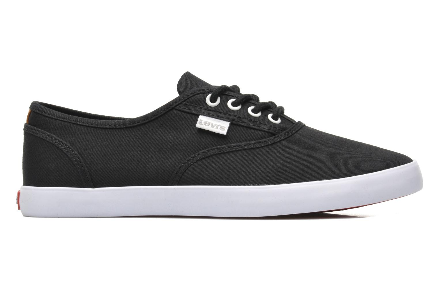Trainers Levi's Palmdale Lace Up Black back view