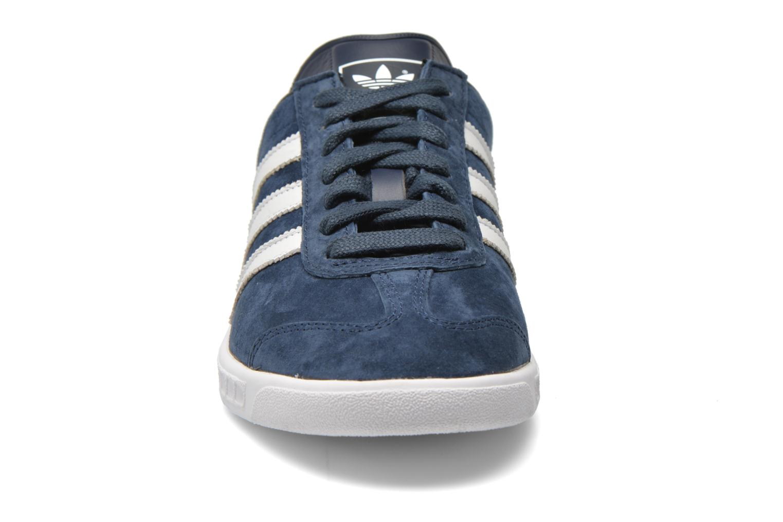 Sneakers Adidas Originals Hamburg Blauw model