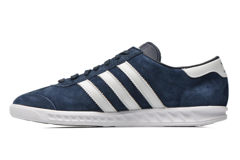 Sneaker Adidas Originals Hamburg blau ansicht von vorne