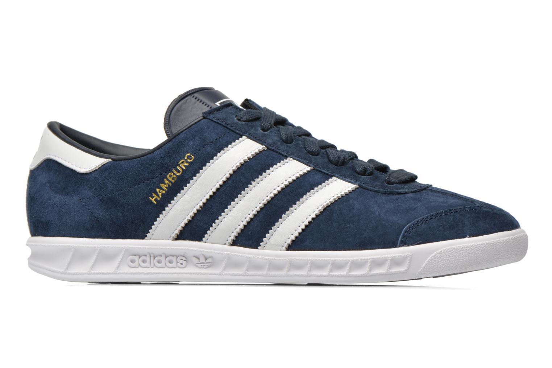 Sneaker Adidas Originals Hamburg blau ansicht von hinten