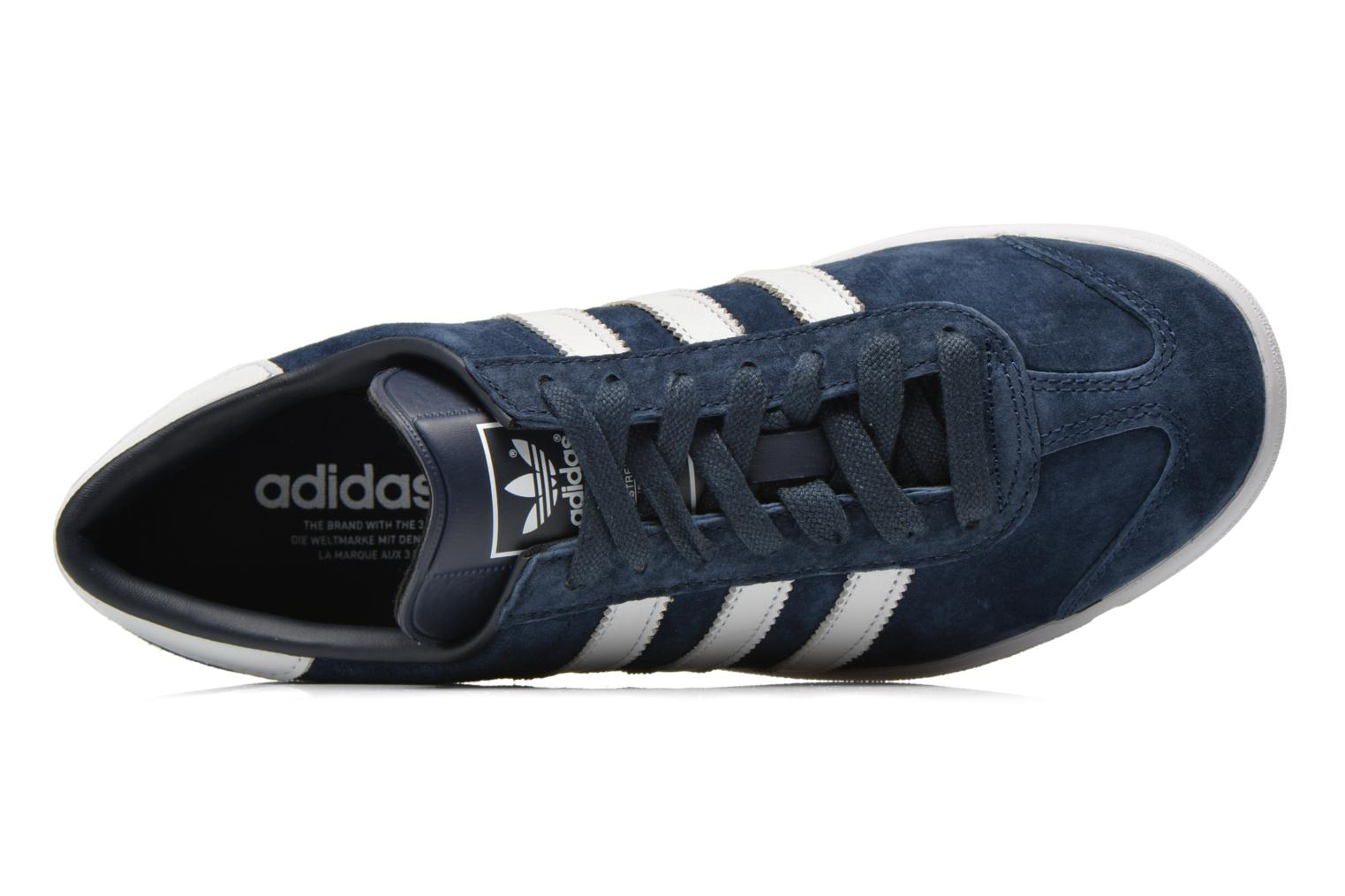 Sneaker Adidas Originals Hamburg blau ansicht von links
