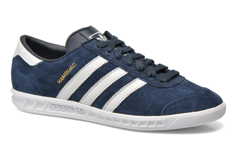 Sneakers Adidas Originals Hamburg Blauw detail