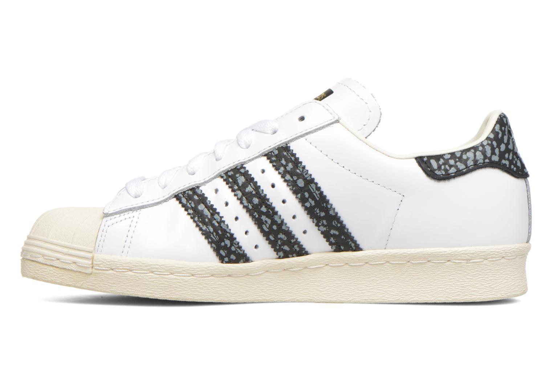 Sneakers Adidas Originals Superstar 80S W Wit voorkant