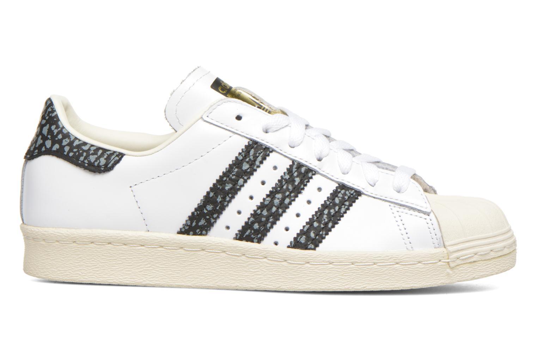 Sneakers Adidas Originals Superstar 80S W Wit achterkant