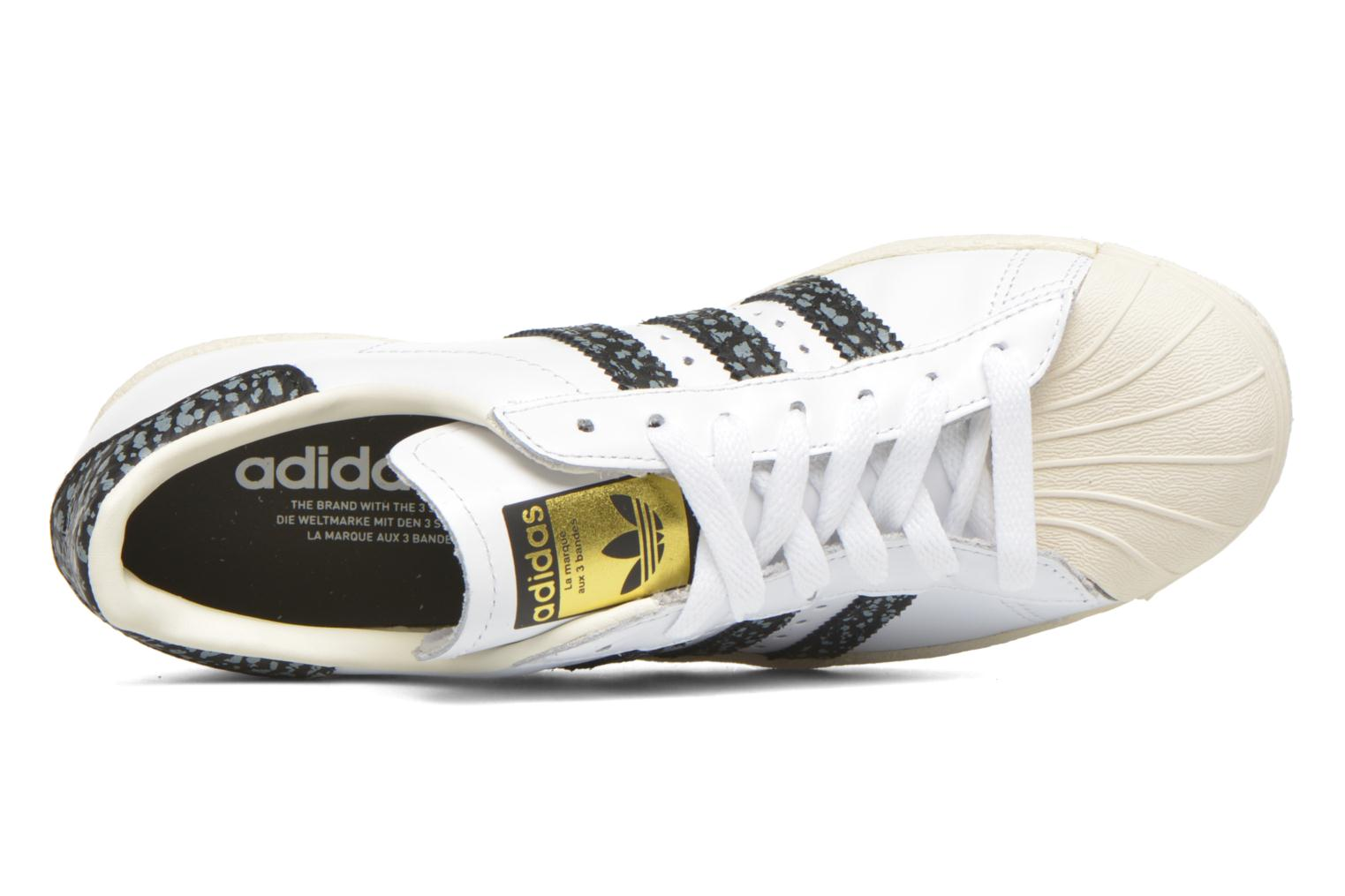 Sneaker Adidas Originals Superstar 80S W weiß ansicht von links