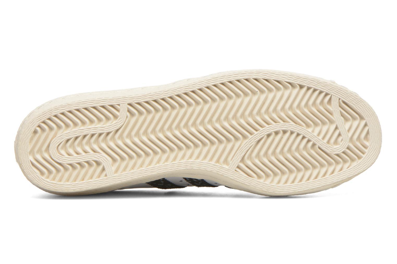 Sneakers Adidas Originals Superstar 80S W Bianco immagine dall'alto