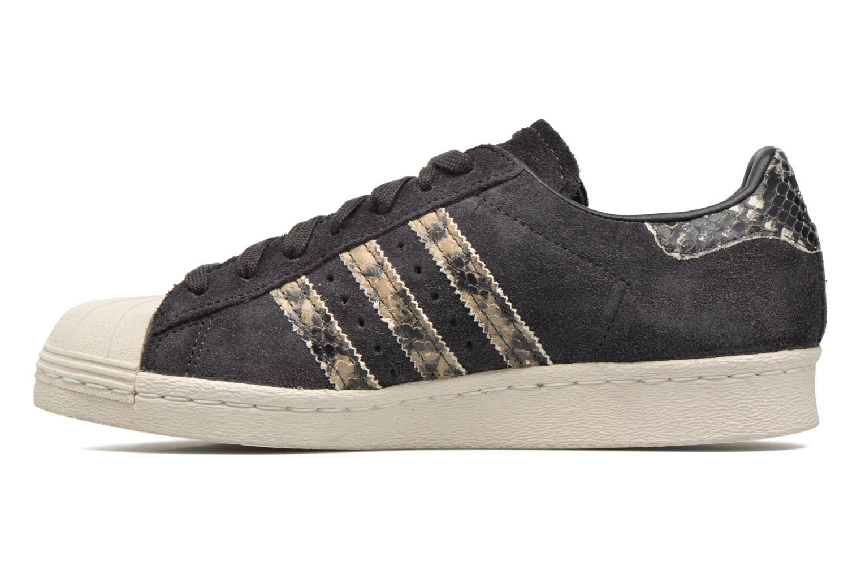 Deportivas Adidas Originals Superstar 80S W Negro vista de frente