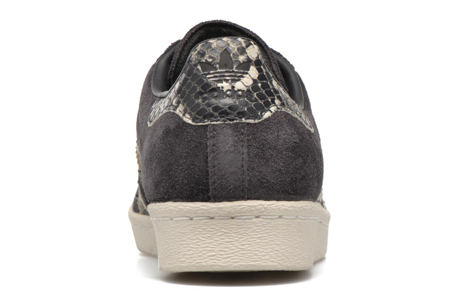 Trainers Adidas Originals Superstar 80S W Black view from the right