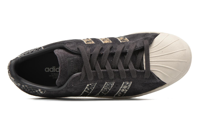 Sneakers Adidas Originals Superstar 80S W Nero immagine sinistra