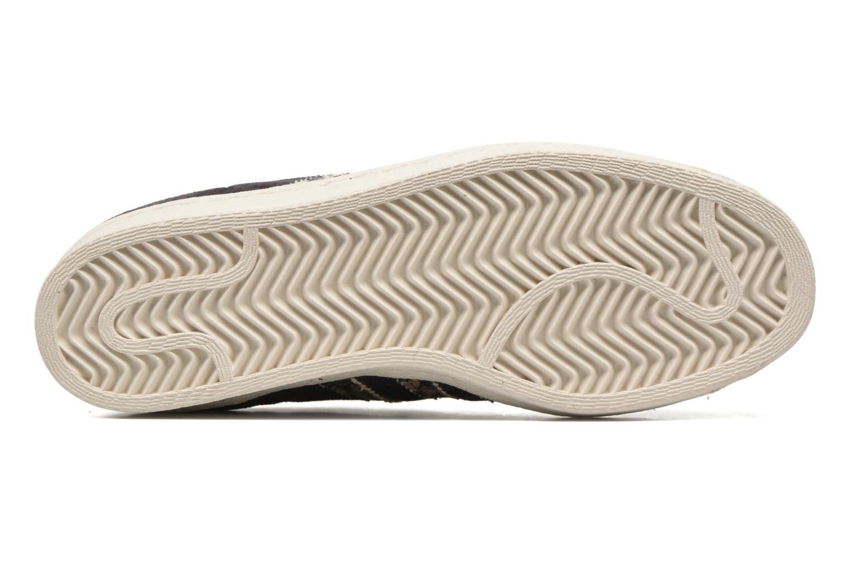 Sneakers Adidas Originals Superstar 80S W Nero immagine dall'alto