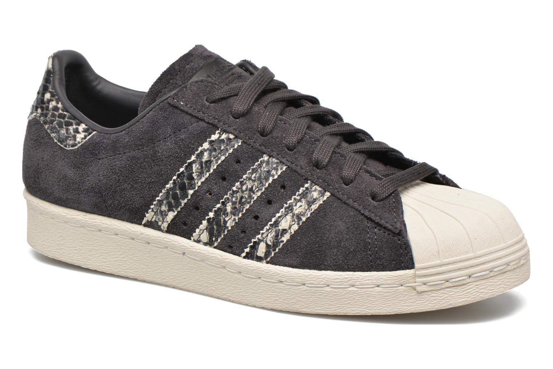 Sneakers Adidas Originals Superstar 80S W Sort detaljeret billede af skoene