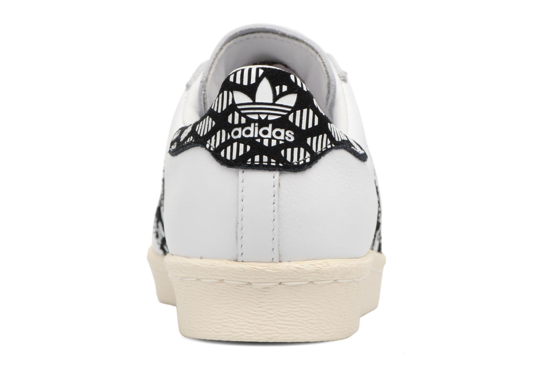 Sneakers Adidas Originals Superstar 80S W Zwart rechts