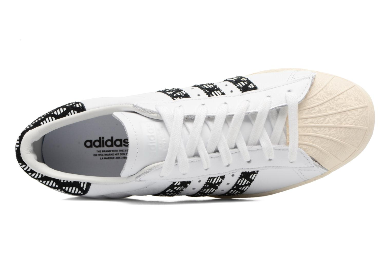 Baskets Adidas Originals Superstar 80S W Noir vue gauche