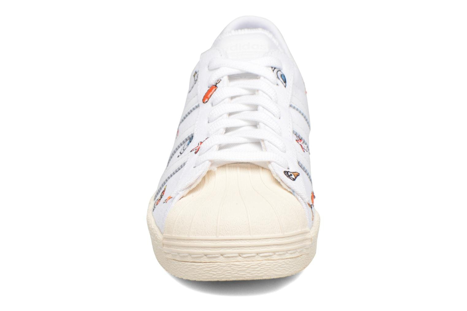 Sneakers Adidas Originals Superstar 80S W Hvid se skoene på
