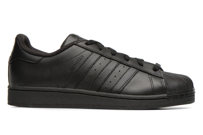 Trainers Adidas Originals Superstar Foundation Black back view