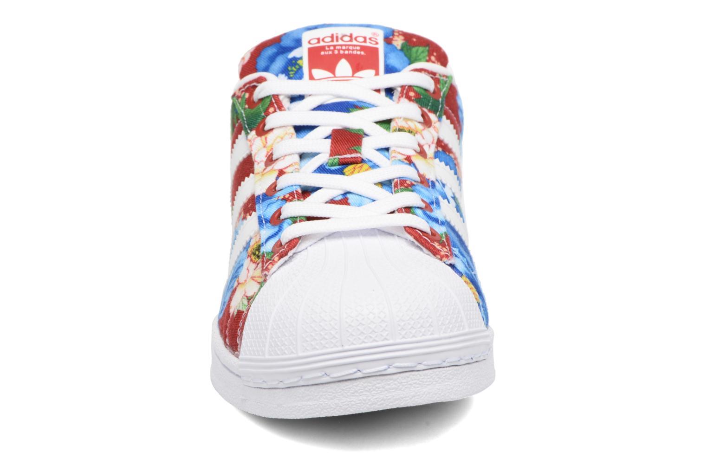 Sneaker Adidas Originals Superstar W mehrfarbig schuhe getragen
