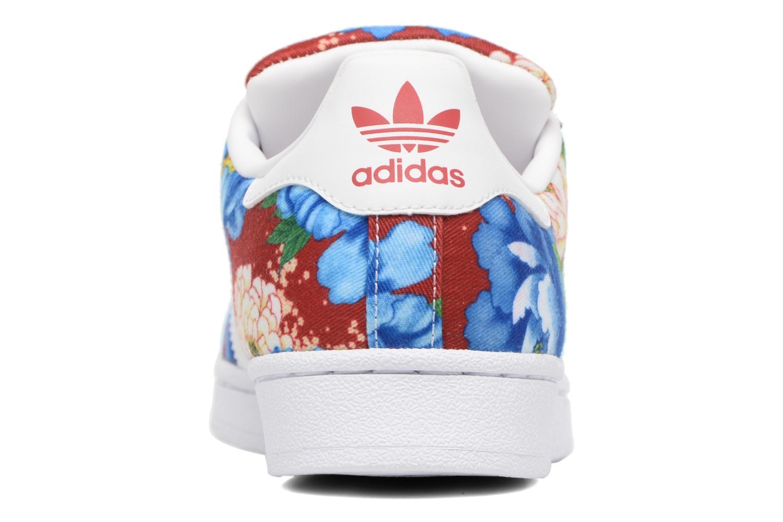 Deportivas Adidas Originals Superstar W Multicolor vista lateral derecha