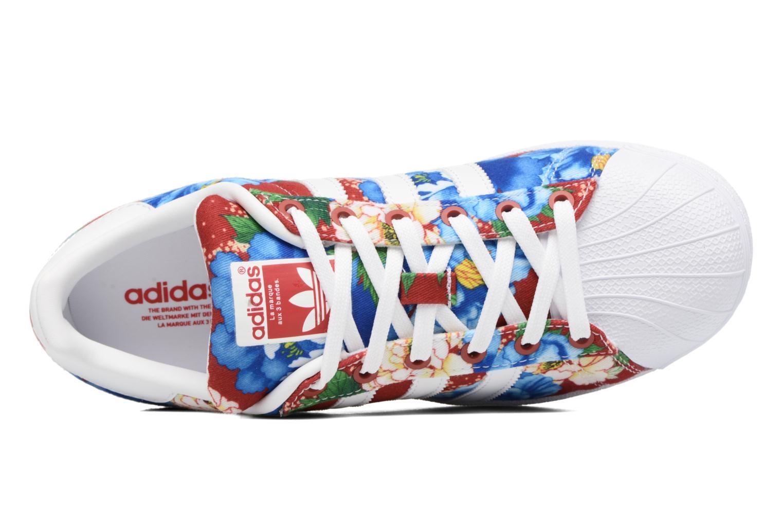 Deportivas Adidas Originals Superstar W Multicolor vista lateral izquierda