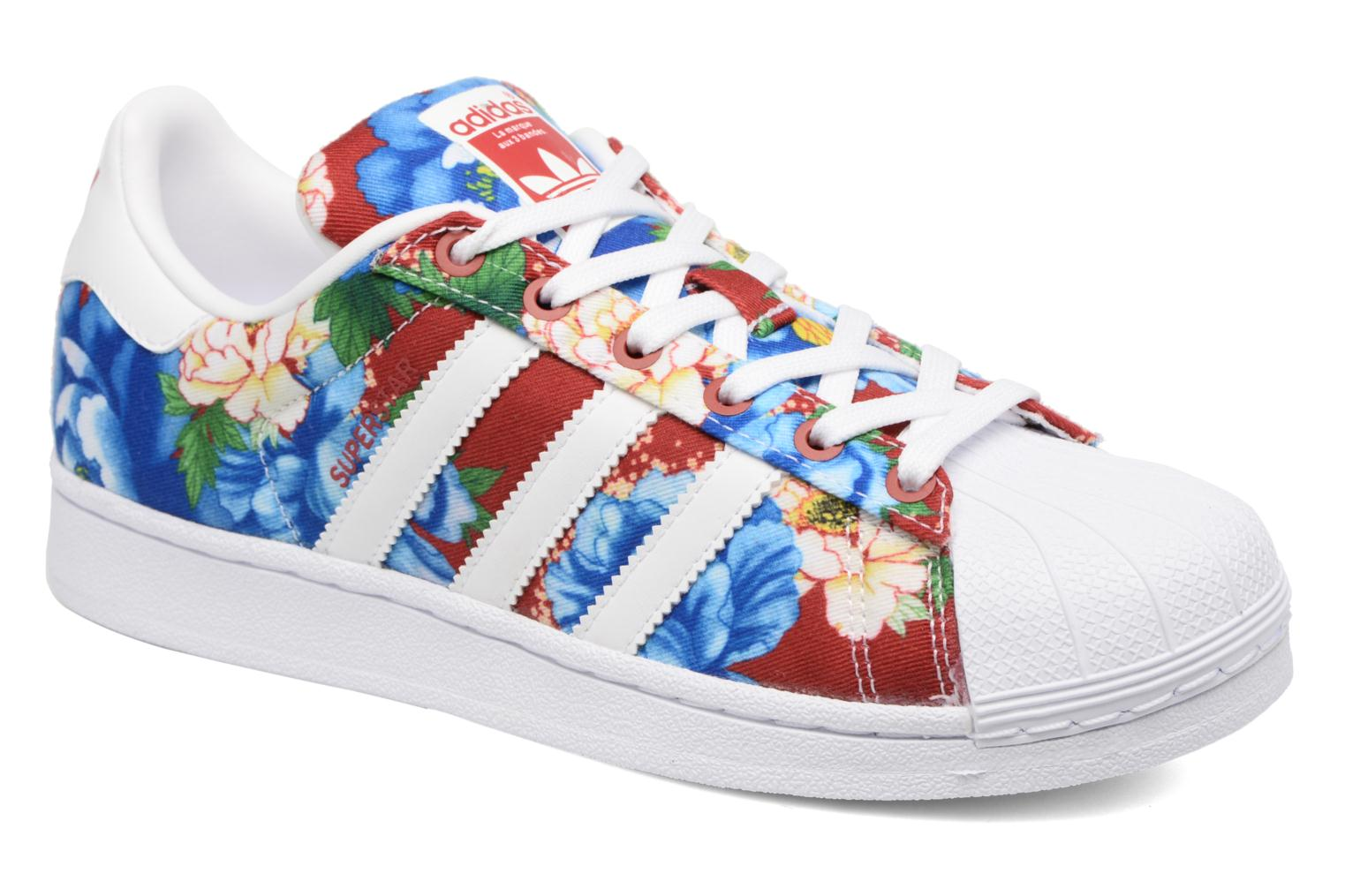 Trainers Adidas Originals Superstar W Multicolor detailed view/ Pair view
