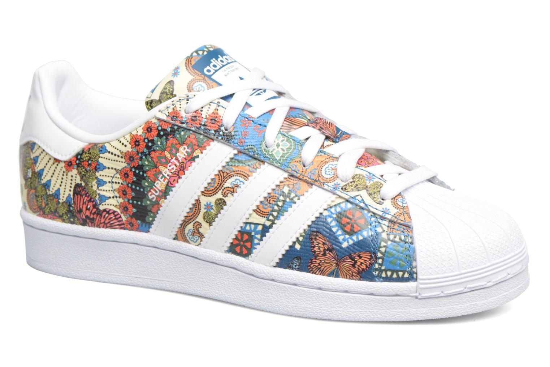 Baskets Adidas Originals Superstar W Multicolore vue détail/paire