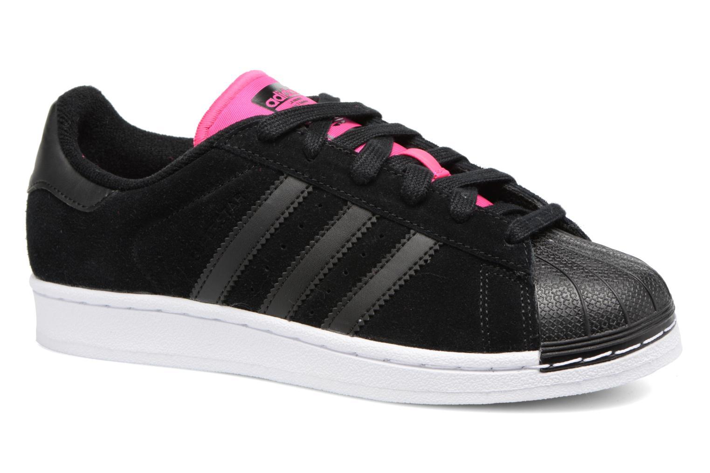 Baskets Adidas Originals Superstar W Noir vue détail/paire