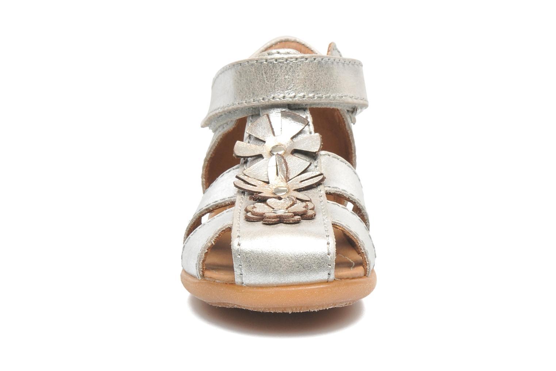 Sandales et nu-pieds Bisgaard Kirsten Argent vue portées chaussures