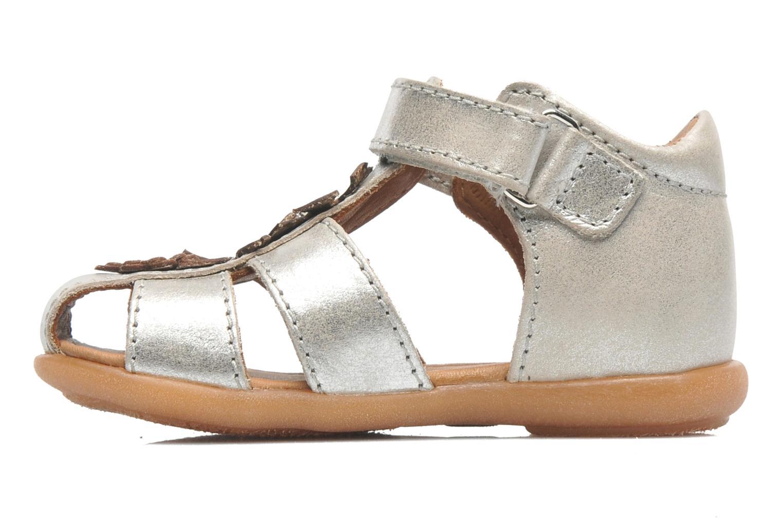 Sandales et nu-pieds Bisgaard Kirsten Argent vue face