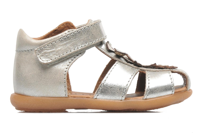 Sandales et nu-pieds Bisgaard Kirsten Argent vue derrière