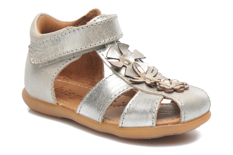 Sandales et nu-pieds Bisgaard Kirsten Argent vue détail/paire